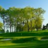 A view of hole #2 protected by bunkers at Firestone Country Club - North Course