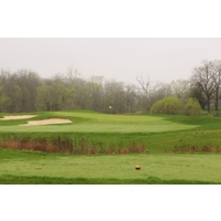 The third hole at Darby Creek Golf Course is a par 3.
