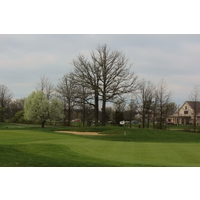 The fifth at Glenross Golf Club plays 420 yards.