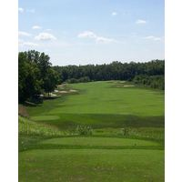 Cooks Creek Golf Club in Ashville, Ohio features bentgrass tees, greens and fairways.