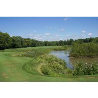 A view of the second tee at Cooks Creek Golf Club in Ashville, Ohio.