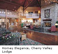 Cherry Valley Lodge Lobby