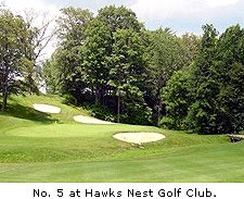 No. 5 at Hawks Nest Golf Club