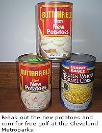 New Potatoes and Corn