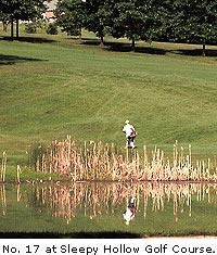 No. 17 at Sleepy Hollow Golf Course