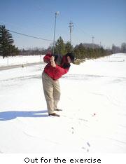 Cleveland Snow Golf