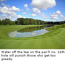 No. 11 at Avalon Lakes Golf Club