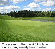 No. 17 at Avalon Lakes Golf Club