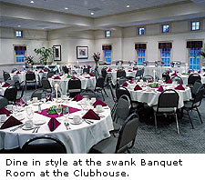 Banquet Room At Fowler's Mill Golf Course