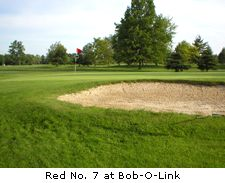 Red No. 7 at Bob-O-Link