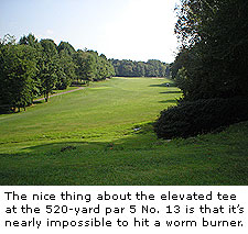 No. 13 at Hawks Nest Golf Course